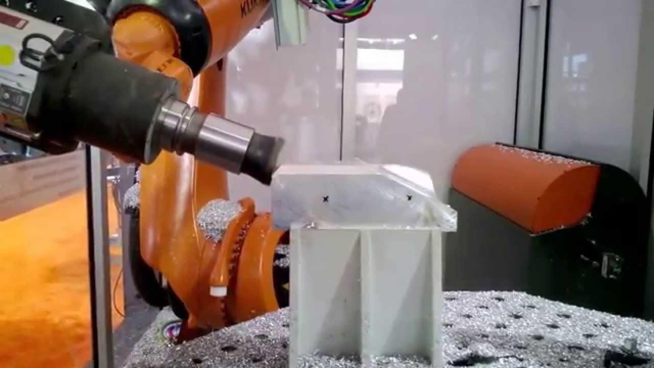 Kuka Robot Milling Youtube