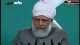 Проповедь Хазрата Мирзы Масрура Ахмада, (18-12-09) часть 6