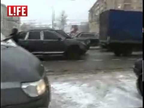 Омоновцы перепутали машины и обстреляли не тот Порше.