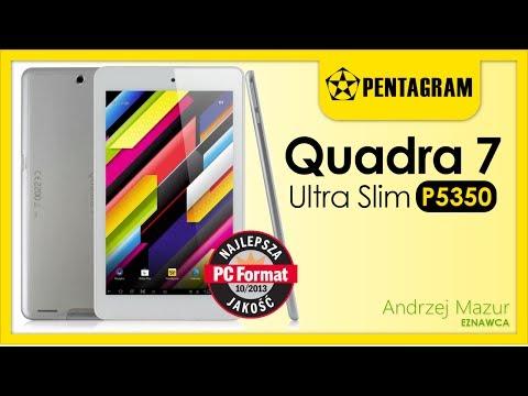 Tlet Pentagram Quadra 7 Ultra Slim P5350 - #1 Test i rozpakowanie ...