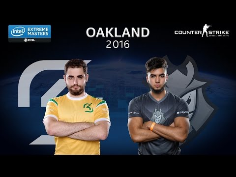 CS:GO - SK Gaming vs. G2 [Dust 2] Map 3 - Quarterfinal - IEM Oakland 2016
