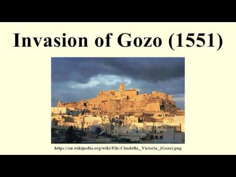 Invasion of Gozo (1551)