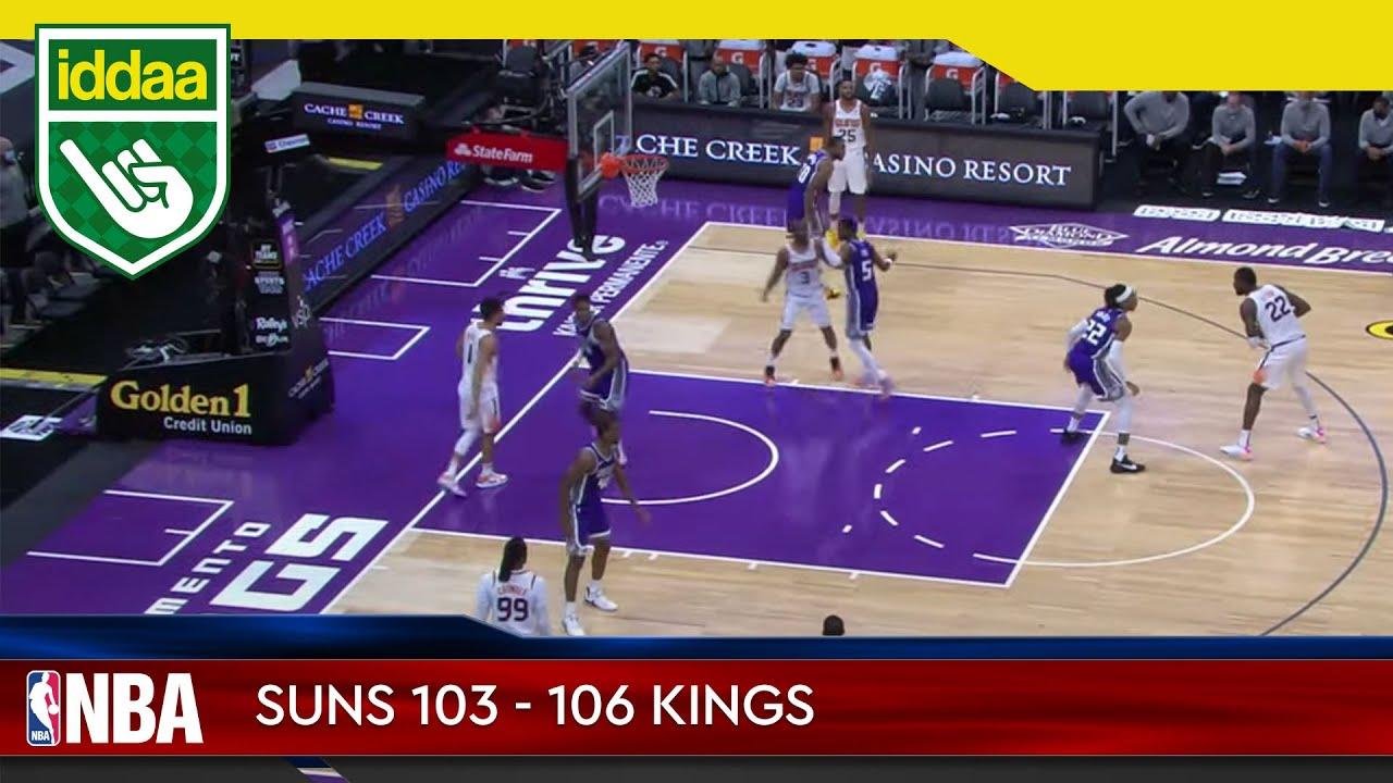 Phoenix Suns – Sacramento Kings Maç Özeti