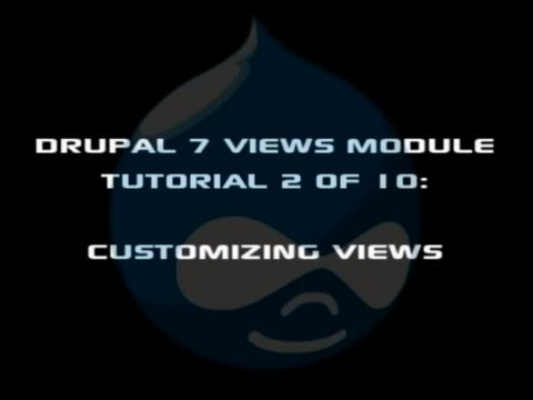 A review of the drupal 8 home page blocks and views drupal video.