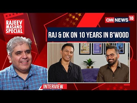 Raj Nidimoru & Krishna DK With Rajeev Masand On 10 Years In Bollywood | CNN News18