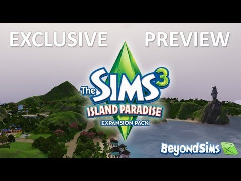The Sims 3 Island Paradise & Dragon Valley Preview: Live Chat With Producers