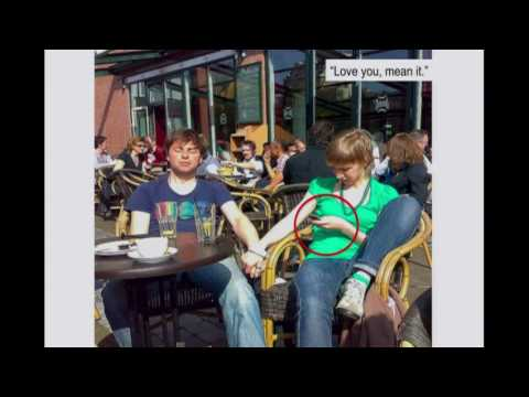 Video image: Why you should put down your cell phone and be here now - Renny Gleeson