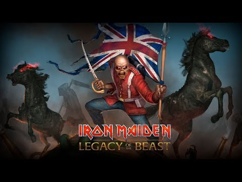 Iron Maiden: Legacy of the Beast - First Look at Trooper Eddie!
