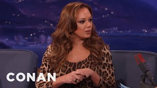 Leah Remini On Shelly Miscavige's Disappearance   CONAN on TBS