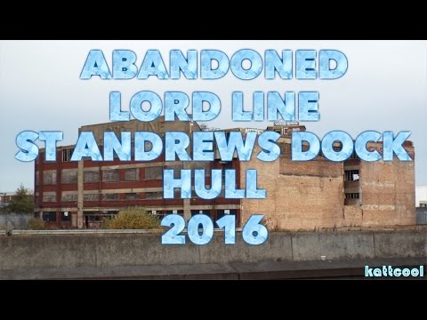 Urbex : Abandoned Lord Line Building St Andrews Dock Hull