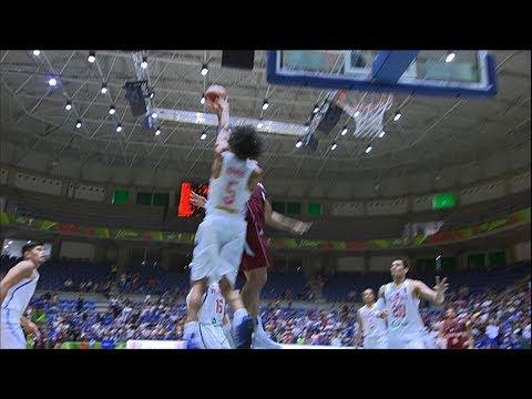 Norwood Swats Away Qatar!   FIBA Asia Cup 2017