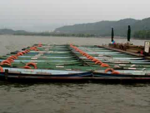 Hangzhou boats.