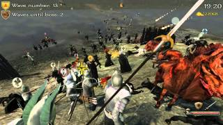 Mount and Blade:Full Invasion 2 Mod-Lord of the Rings Combined vs Isengard #1