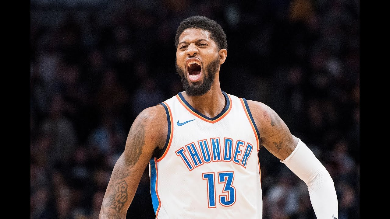 75c31f251fd5a9 Paul George Top 10 Plays on OKC Thunder - YouTube
