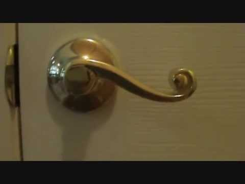 Door Lever Handle Install Tips Youtube