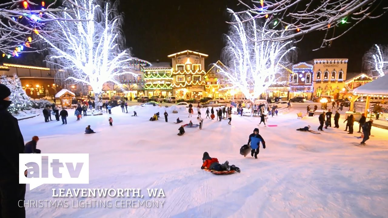 altv presents lighting up leavenworth christmas lighting ceremony