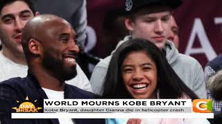 Basketball legend Kobe Bryant & daughter Gianna killed in a helicopter crash in California