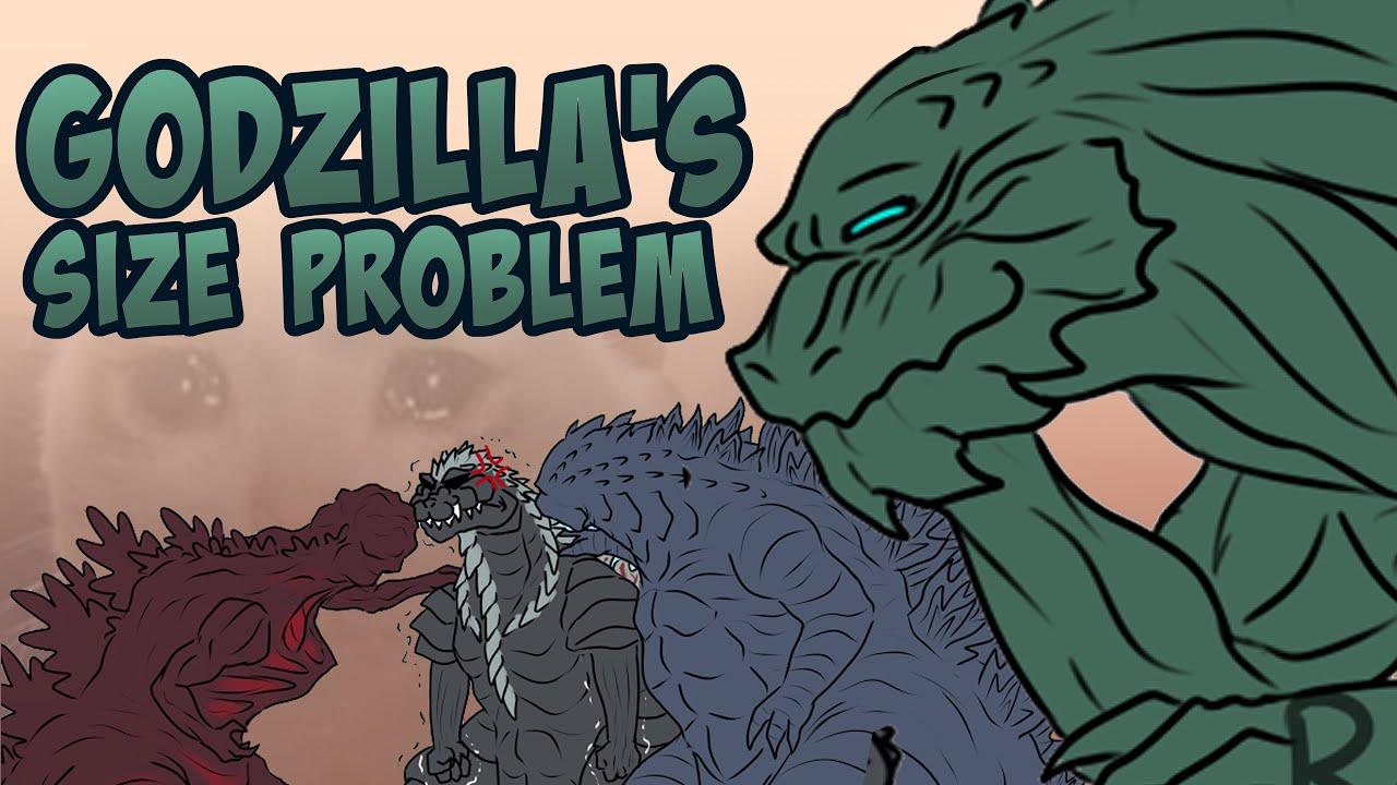 Godzilla KOTM   Godzilla Earth & Shin Godzilla's Size Problem! (Godzilla Comic Dub)