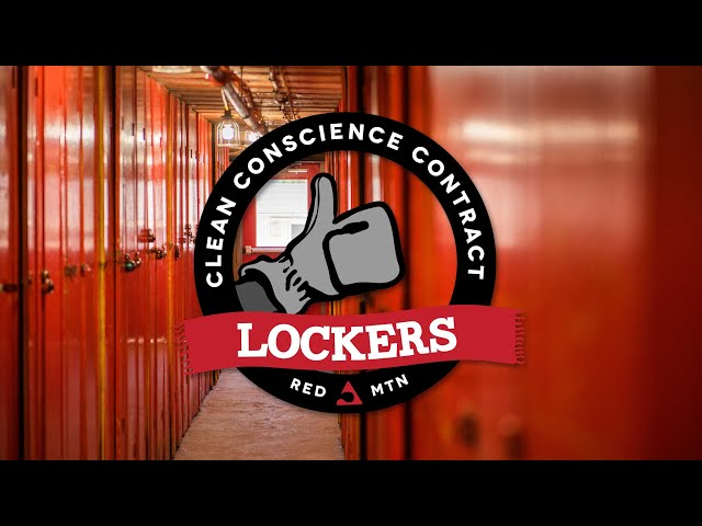 What's New at RED: Locker Rooms