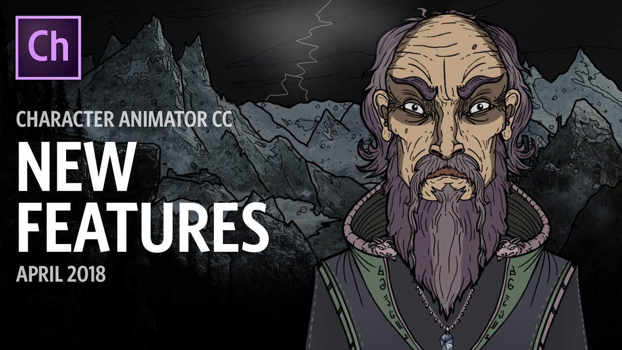Character Animator New Features (April 2018)