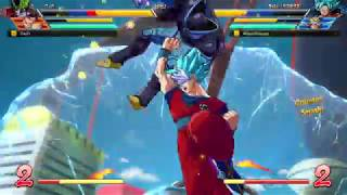 DBFZ Friendlies - MasonEliwood (Base Vegeta/Goku Blue/Black) vs. DarZr (Adult Gohan/Cell/Veg SS) #14