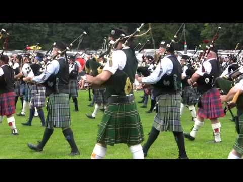 Massed Bands: Glasgow Lands 2015 Opening Ceremony