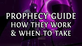 Path of Exile PROPHECY Guide: How Prophecies Work, When to Take Them & When to Seal