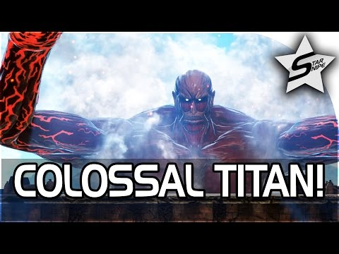 """Attack on Titan: Wings of Freedom Gameplay Part 2 - """"COLOSSAL TITAN BATTLE!!!"""" - 동영상"""
