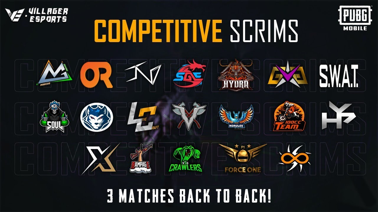 #VE - Competitive Scrims • PUBG Mobile • Villager Esports - Day 15 #PMCO Grind