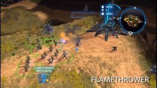 halo wars unsc unit overview part 1