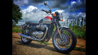What's the difference between the Triumph Bonneville T120 and the T100?