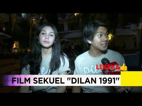"""iqbal & vanesha siap siap banjir air mata """" Dilan 1991 """""""