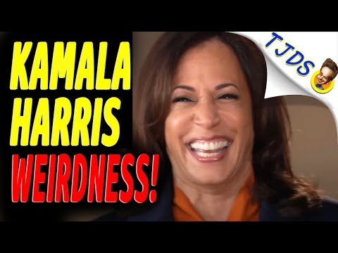 WEIRD Kamala Harris Interview!