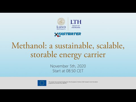 Methanol as a marine fuel, user experience, training requirements, performance