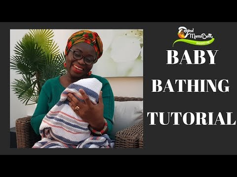 TIPS AND TECHNIQUES ON HOW TO BATH YOUR BABY- MUST WATCH - EP1