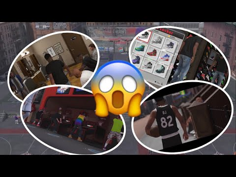 NBA 2K18 NEW PARKS,NEW HAIRSTYLES,NEW CLOTHES | FREE WORLD