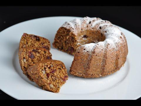 gâteau-bundt-équilibré-aux-flocons-d'avoine-recette