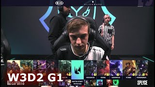 G2 eSports vs Splyce | Week 3 Day 2 of S9 LEC Spring 2019 (ex-EULCS) | G2 vs SPY W3D2