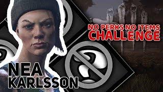 Nea Karlsson | NO perks NO items Challenge | Dead By Daylight #5 | w/ Guga Tomek