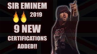 9 New Certifications for Eminem in the UK – Killshot is the Latest 'Oops'