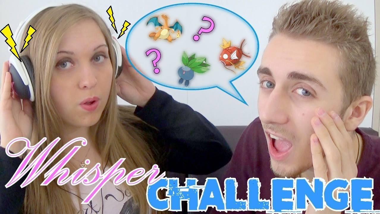Poke Recre 3 Whisper Challenge Pokemon Youtube