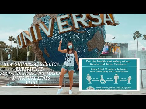 NEW Universal Studios Experience- Social Distancing, Masks,