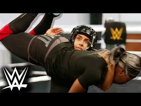 We Trained With WWE For A Week (Feat. Charlotte Flair & Naomi)