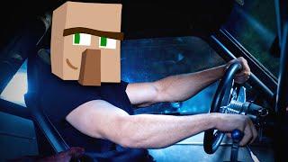 НОСАТЫЙ ЗА РУЛЕМ - Minecraft (Мини-Игра)
