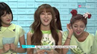 Pops in Seoul - LABOUM(라붐) _ Pit-a-pat(두근두근) - Interview