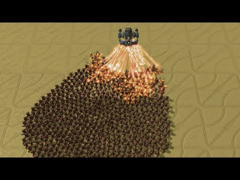 1 HYPERION vs 2500 HYDRALISKS - StarCraft 2 MASSIVE Battle