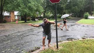 Live coverage of Hurricane Florence in North Carolina. Fake News?!