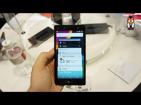 Acer Liquid x2 hands on: battery & selfie monster [English]