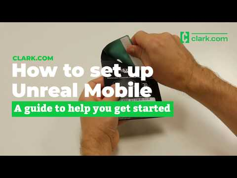 Unreal Mobile on AT&T's network: Activate your Android device