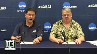 2018 D-III World Series: Pat and Jim wrap up Day 1 in Appleton